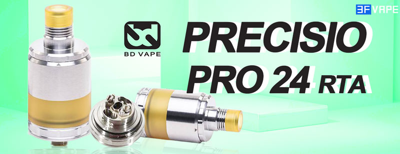 BD Vape Precisio Pro 24 RTA 24mm MTL RDL RTA