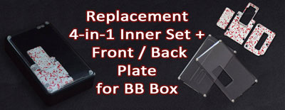 Replacement 4-in-1 Inner Set + Front / Back Plate for BB
