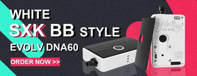 White SXK BB Style DNA60 60W Box Mod Kit