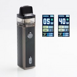 Authentic VOOPOO VINCI 40W 1500mAh VW Mod Pod System Vape Kit with 5 PnP Coils(Standard Edition)
