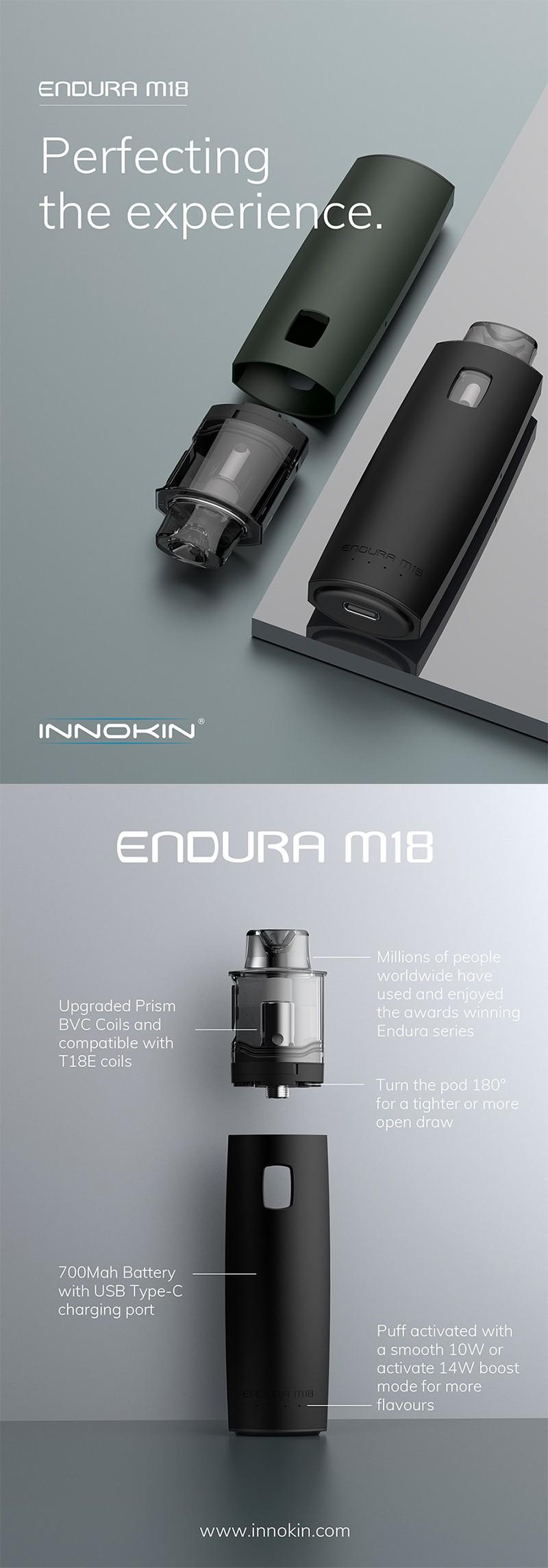 Authentic Innokin Endura M18 Pod System