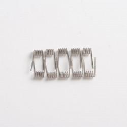 ThunderHead Creations THC Tauren MTL RTA Replacement Ni80 MTL Fused Clapton Coil - 0.6ohm, 30GA x 2 + 38GA (10 PCS)