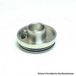 SXK Four One Five 415 RTA Ultima Clone Replacement Top Filling Cap - Silver, 316 Stainless Steel