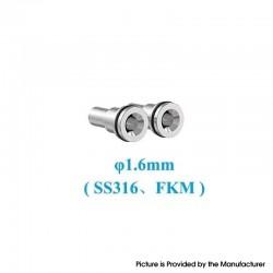 Original Ambition Mods and The Vaping Gentlemen Club Bishop MTL RTA Replacement Air Intake Pins - 1.6mm