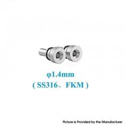 Original Ambition Mods and The Vaping Gentlemen Club Bishop MTL RTA Replacement Air Intake Pins - 1.4mm
