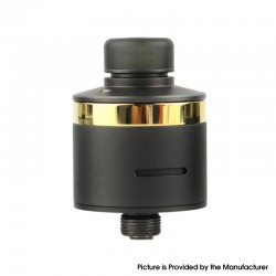 Original BP Mods Bushido V3 RDA 22mm Dripping Atomizer w/ BF Pin