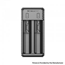 Original Nitecore UI2 USB Charger for 18350, 18490, 18500, 18650, 20700, 21700, 22500, 22650, 25500, 26500, 26650