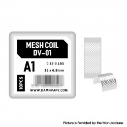 Original Damn Vape Doom X Mesh RTA Replacement KA1 DV-01 Mesh Coils