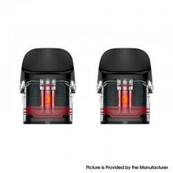 Original Vaporesso Luxe Q Pod System Vape Kit Replacement Pod Cartridge w/ 0.8ohm Mesh Coil 2.0ml