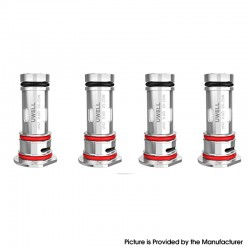 Uwell Havok V1 Pod System / Cartridge Replacement UN2 MTL / RDL Coil Heads - 0.6ohm (20~25W) (4 PCS)