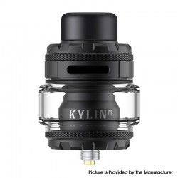 Original Vandy Vape Kylin M Pro RTA Rebuildable Tank Atomizer - 6.0ml / 8.0ml, 24.22mm Diameter