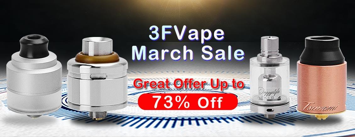 3FVAPE March Sale