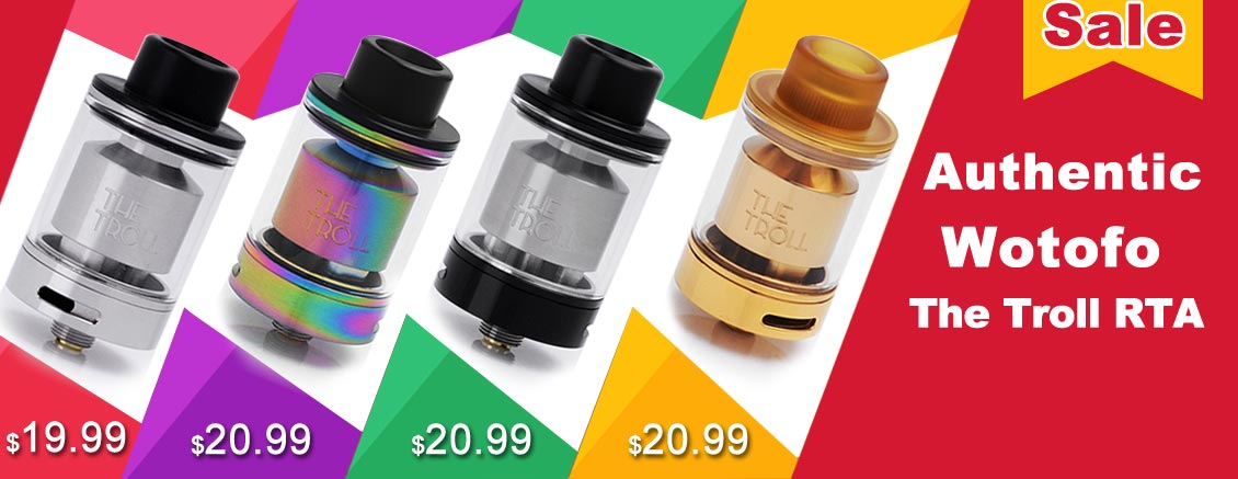 Authentic Wotofo The Troll RTA Sale