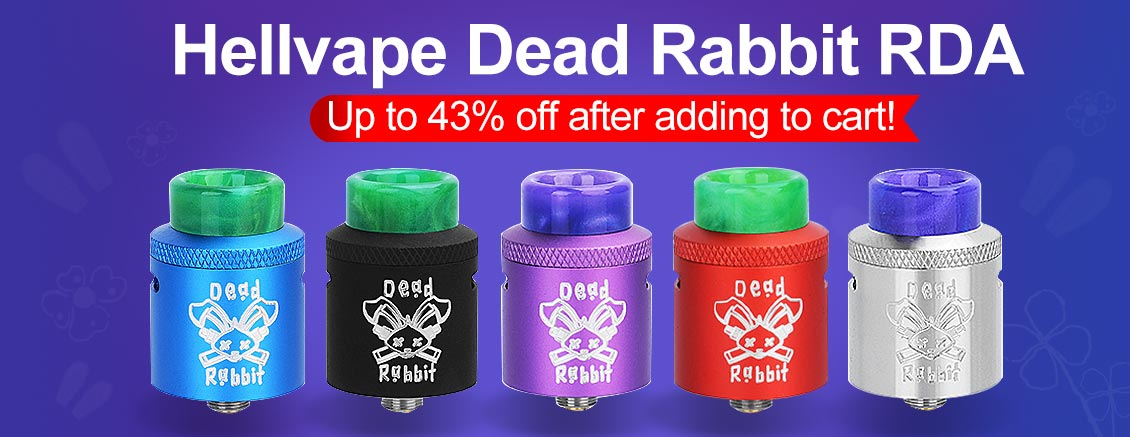 Authentic Hellvape Dead Rabbit RDA