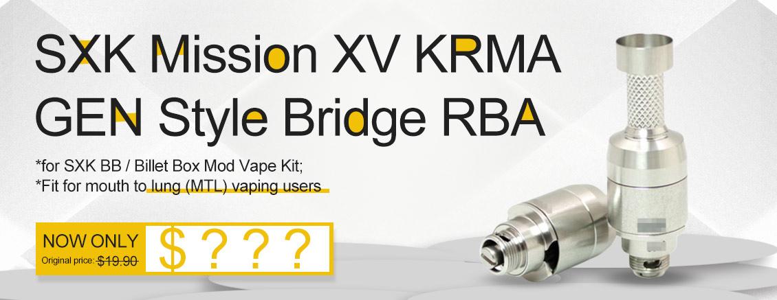 SXK Mission XV KRMA GEN Style Bridge RBA