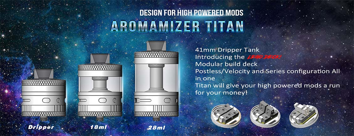 Authentic Steam Crave Aromamizer Titan RDTA