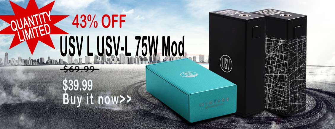 Authentic USV L 75W Box Mod Special Offer