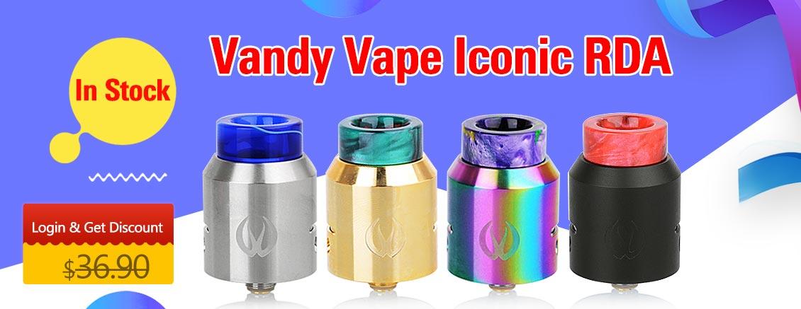 Vandy Vape Iconic RDA - 3FVAPE