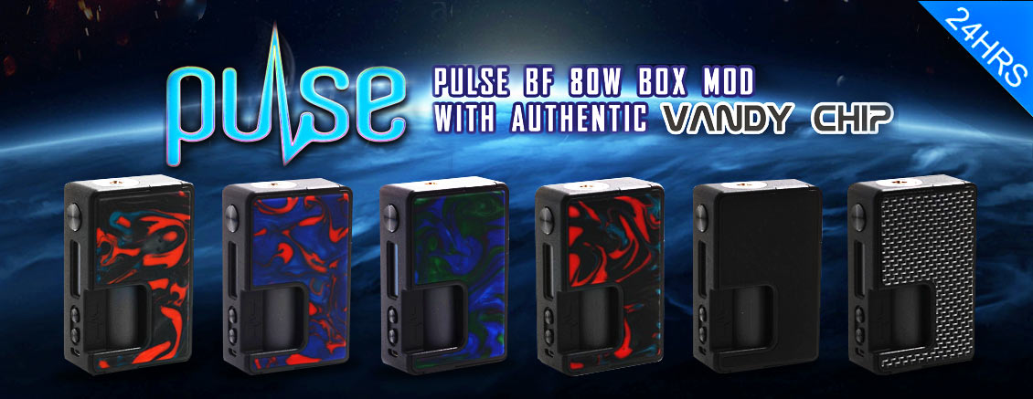 Vandy Vape Pulse BF with Authentic Vandy Chip - 3FVAPE