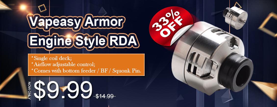 Vapeasy Armor Engine Style RDA
