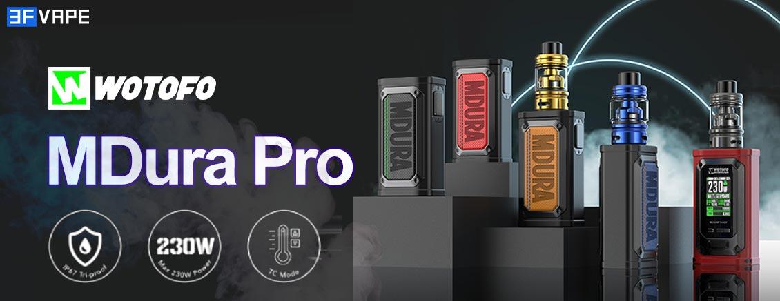 Wotofo MDura Pro 230W Box Mod