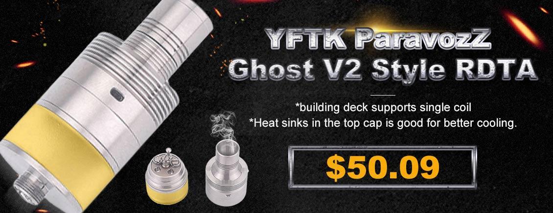 YFTK ParavozZ Ghost V2 Style RDTA
